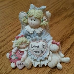 "Heart Tugs Figurine ""Love Is Gentle"""